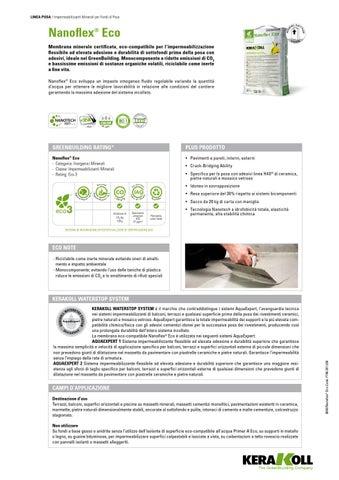 Nanoflex eco kerakoll by EdilCimini Roma - issuu