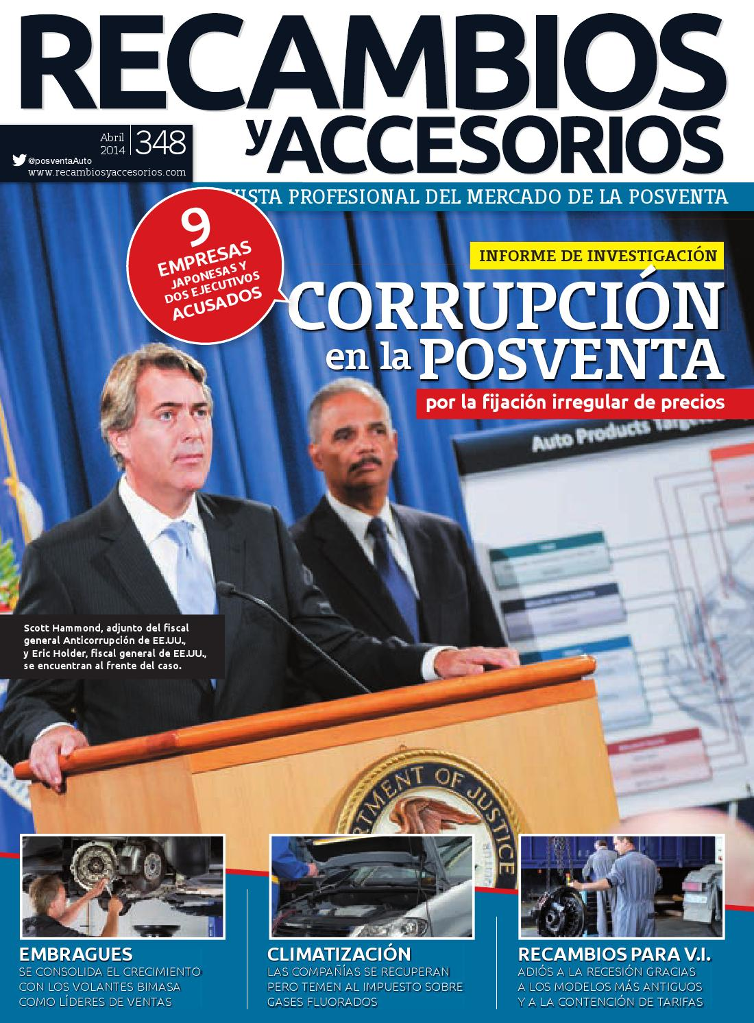 Recambios y accesorios n 348 by digital newspapers s l for Top recambios profesional