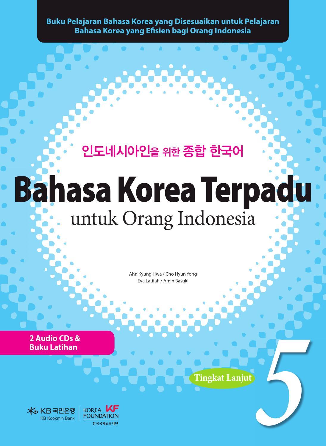 인도네시아인을 위•œ 종•© •œêµì–´ 5권 By The Korea Foundation