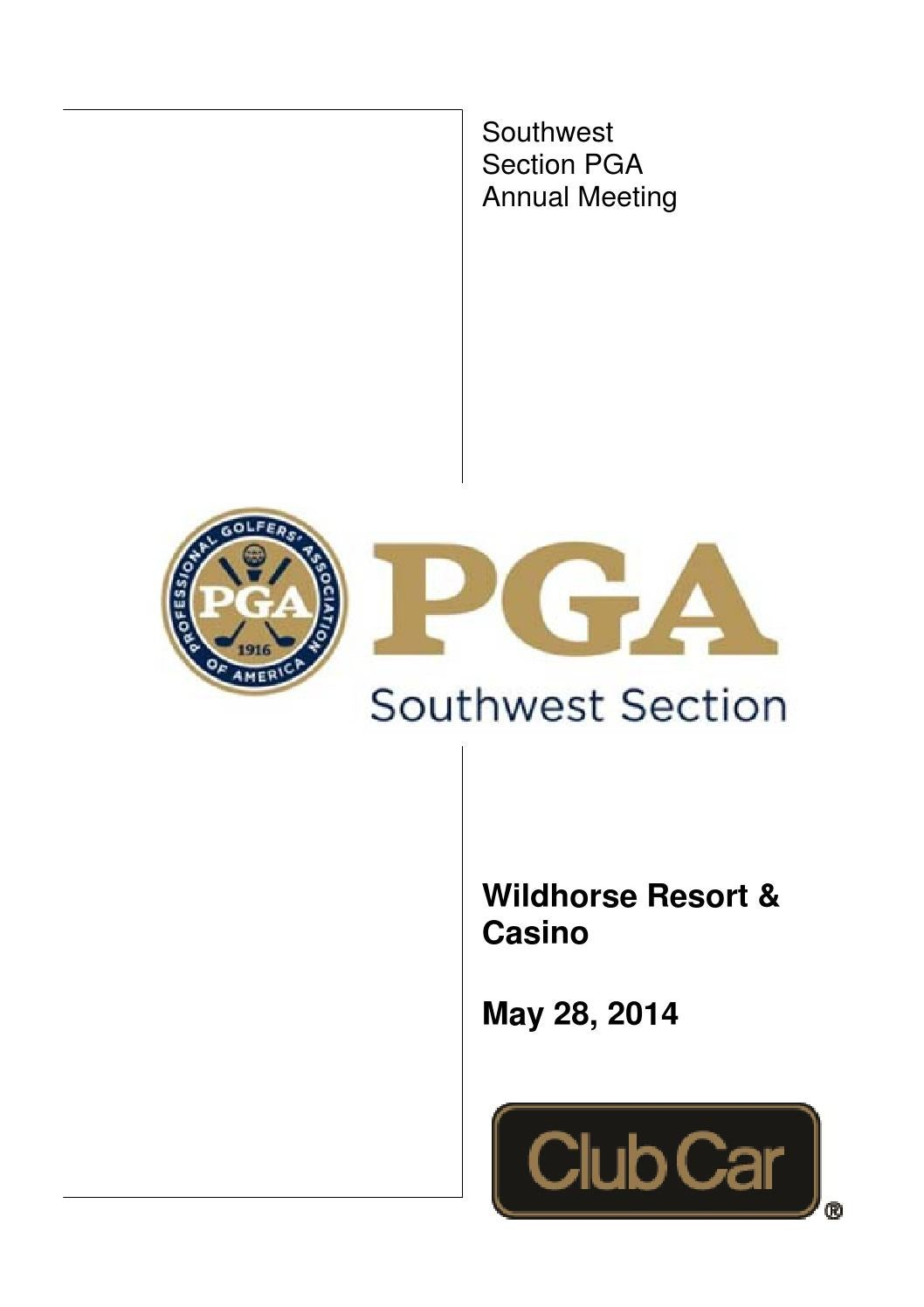 Annual meeting Booklet by Southwest Section PGA - Issuu