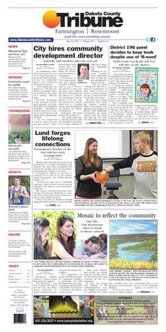 Dc tribune 5 22 14 by Dakota County Tribune - issuu