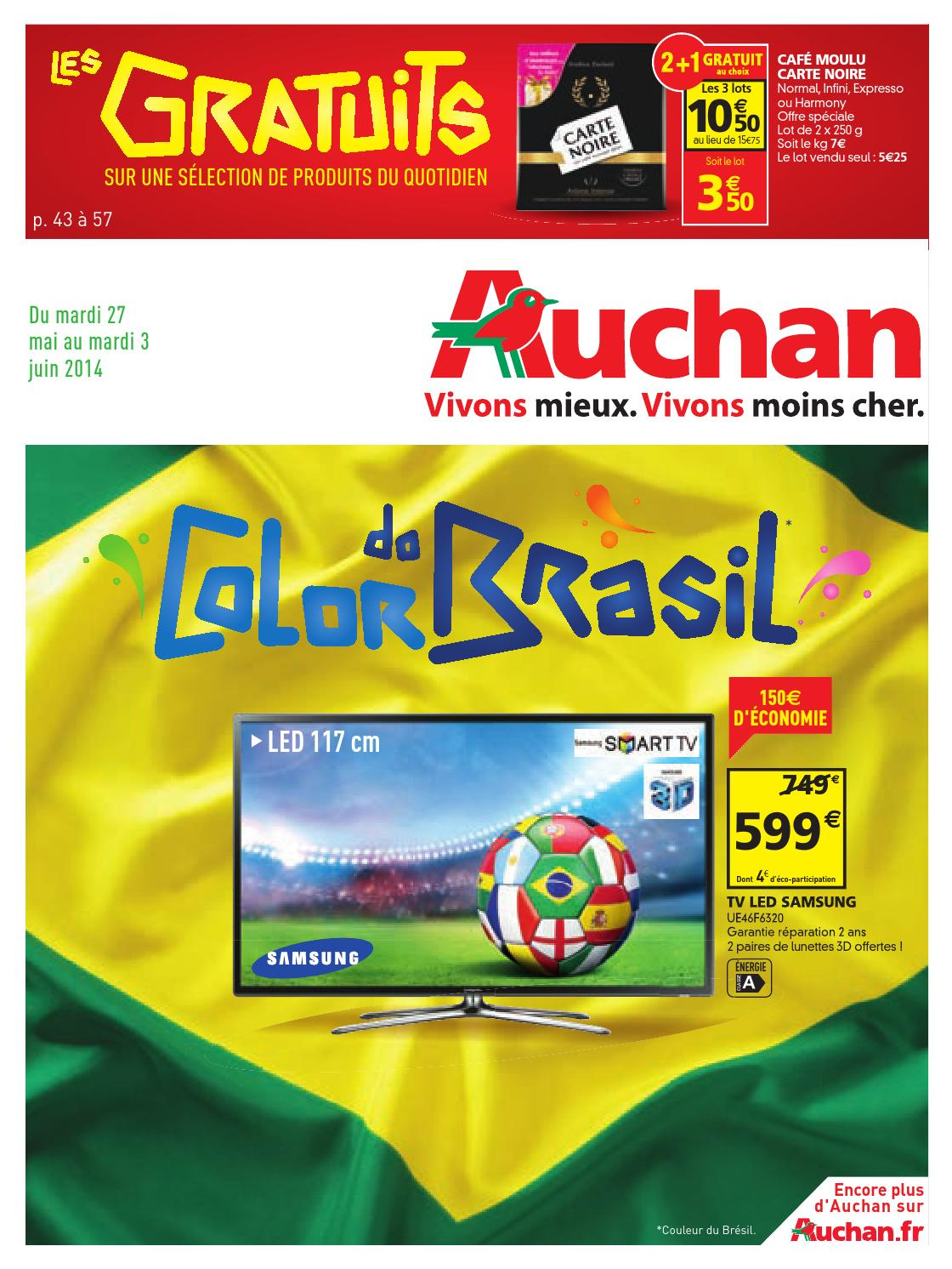 catalogue auchan du 27 mai au 3 juin by anti issuu. Black Bedroom Furniture Sets. Home Design Ideas