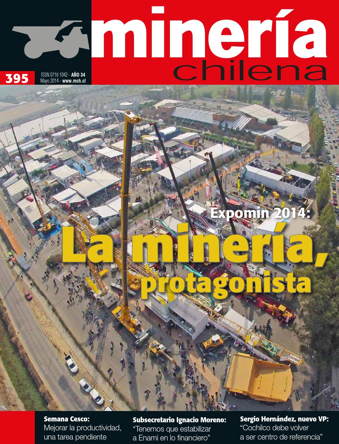 MINERÍA CHILENA 395 by Editec - issuu