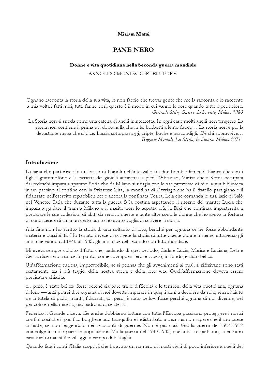 Miriam mafai pane nero by Cerza Teresa - issuu c275759f3b6