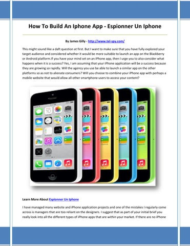 Applications gratuites pour espionner les téléphones des autres