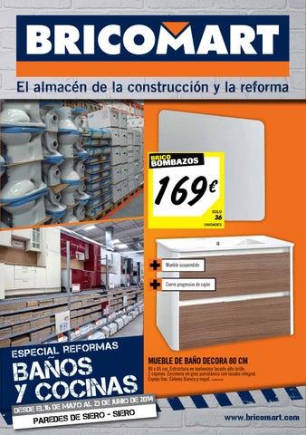Muebles De Bano Bricomart.Bricomart Folleto Asturias Siero 12 05 2014 By Losdescuentos