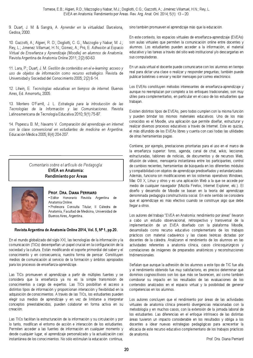 Revista Argentina de Anatomia Online 2014; 5(1):1-44. by Nicolas ...