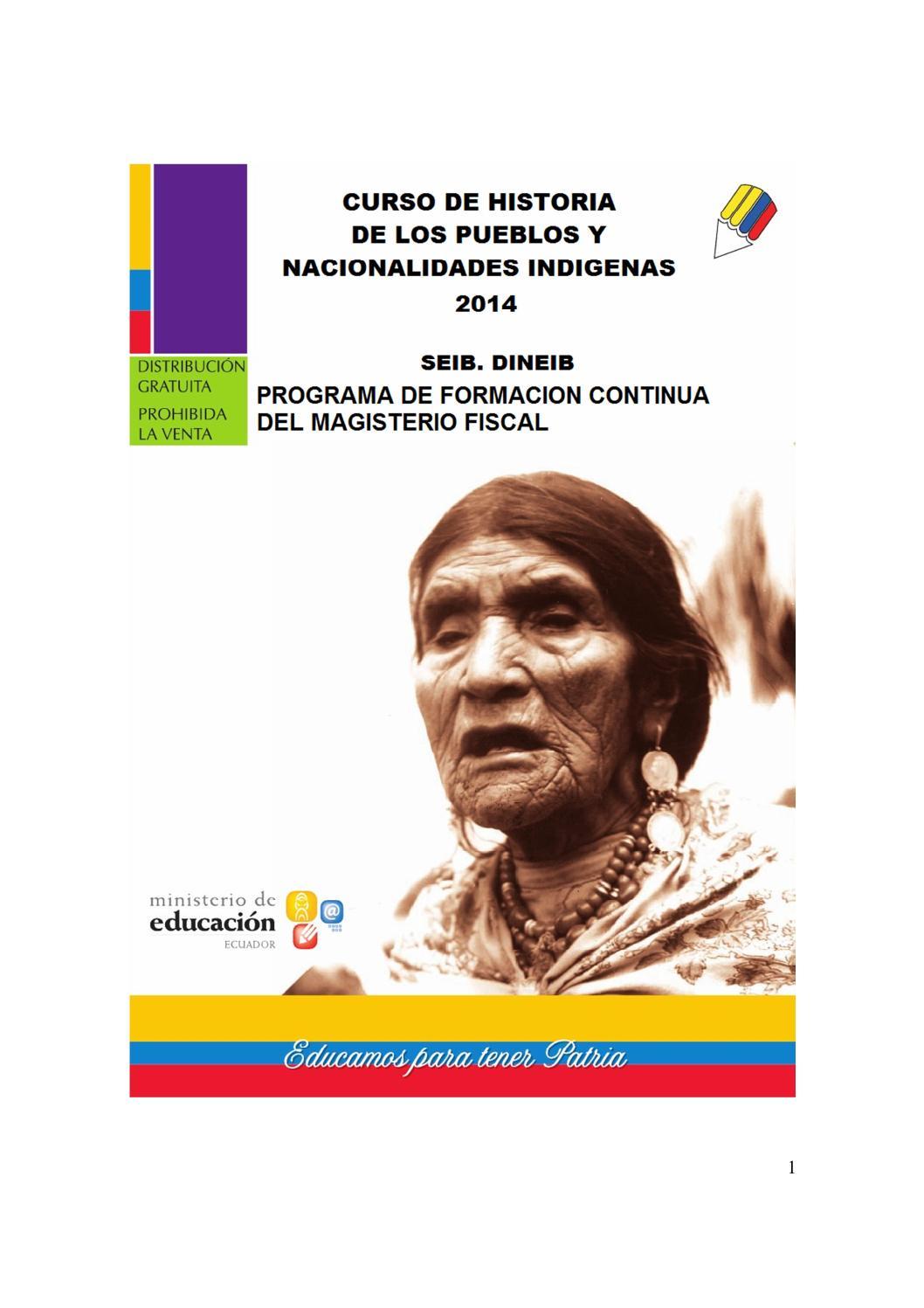 fb48c4e55 Modulo de historia puyo 2014 by Coordinacion Tecnica DIPEIBA - issuu