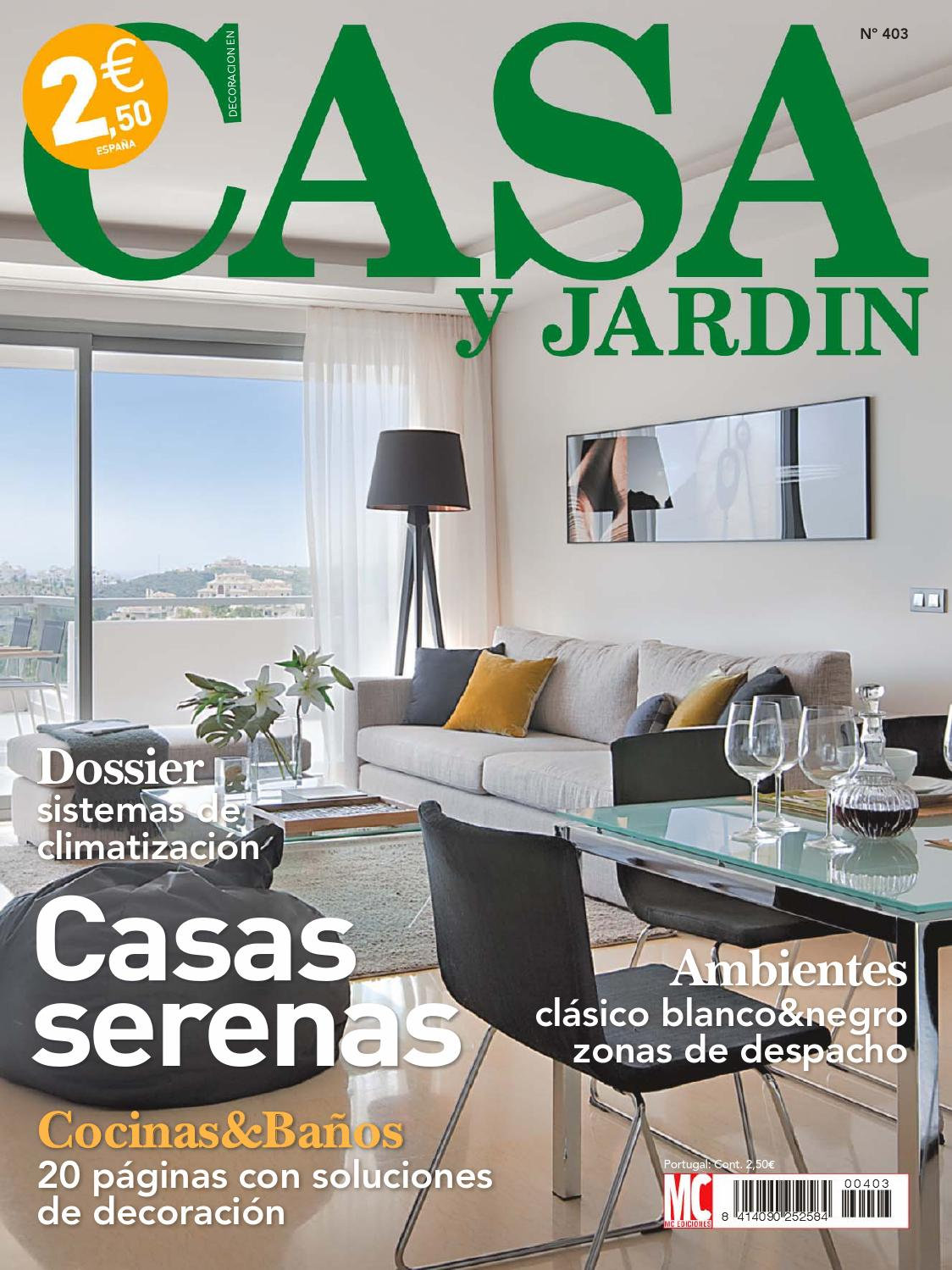 Casa y jardin by sucalon issuu for Decoracion pagina
