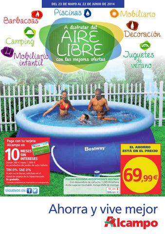 piscina de plastico en alcampo