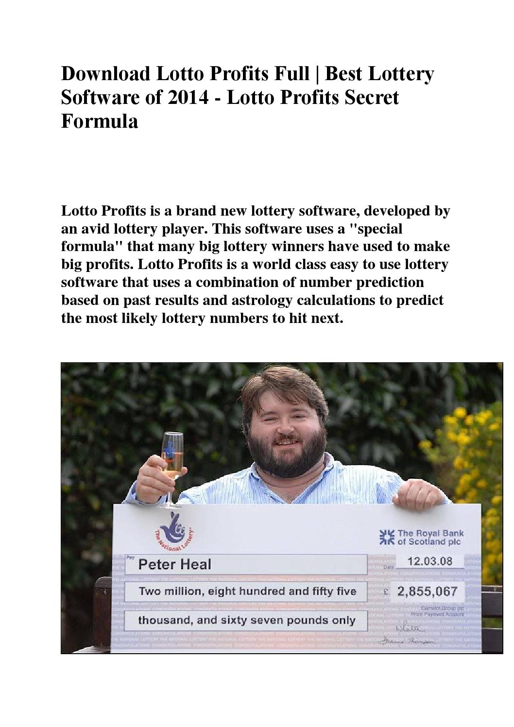 Download lotto profits full best lottery software of 2014 lotto