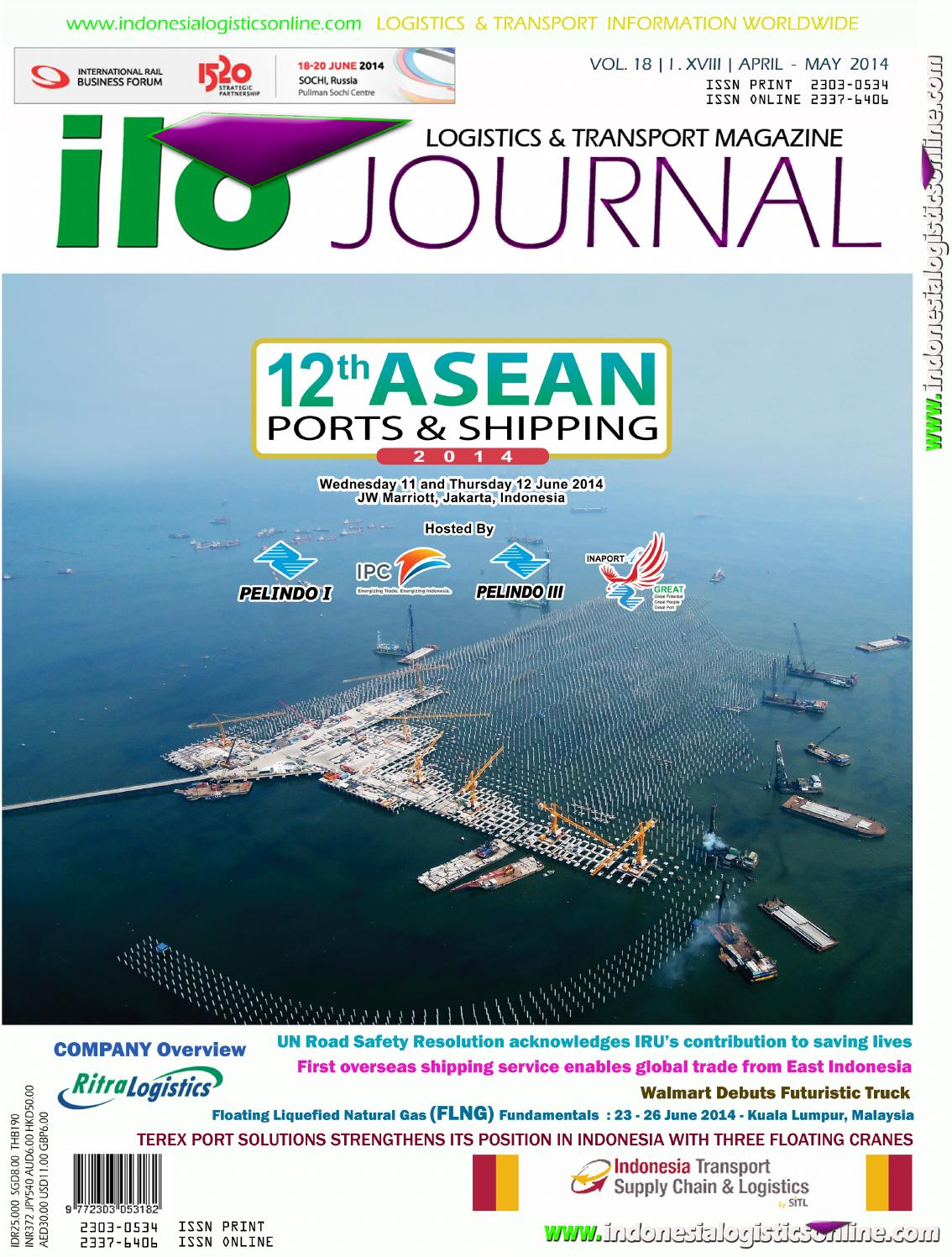 Volume 18 april may 2014 by indonesialogisticsonline ilojournal - issuu