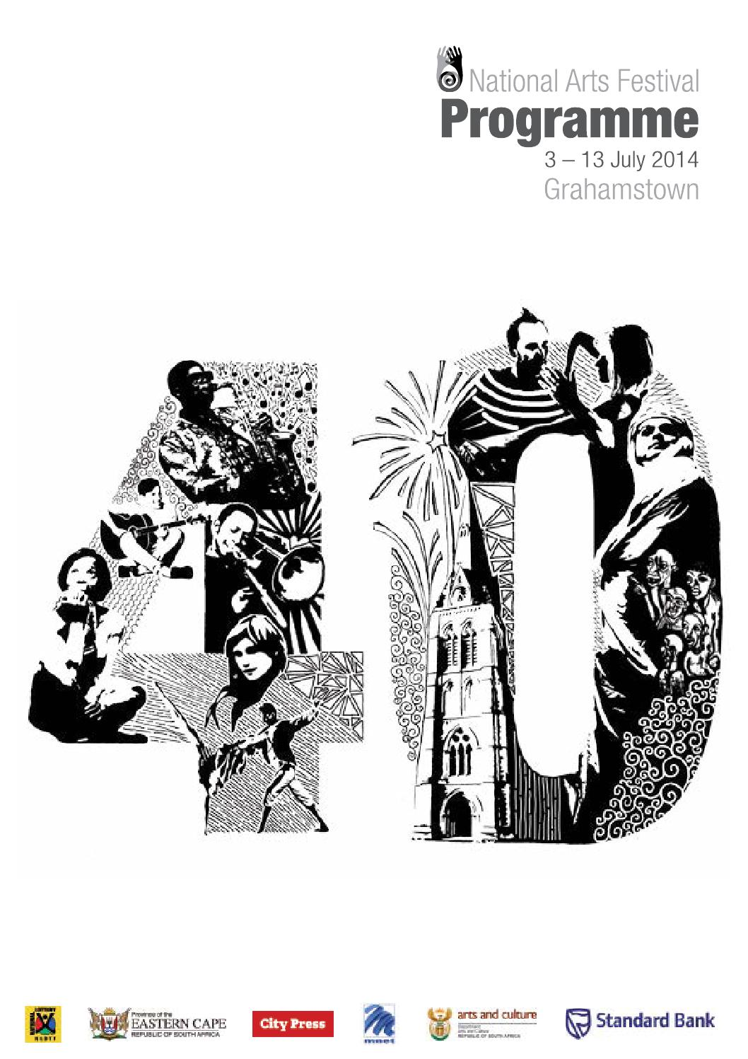 019f632a0e890 National Arts Festival Programme (2014) by Tony Lankester - issuu
