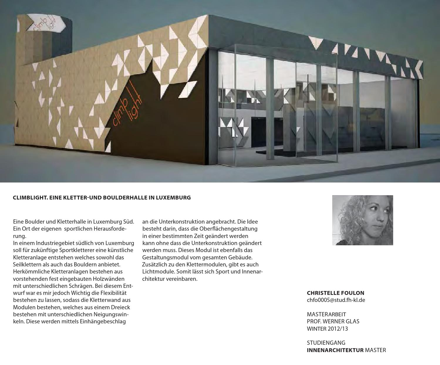 Winter 12 By Innenarchitektur Kaiserslautern Issuu