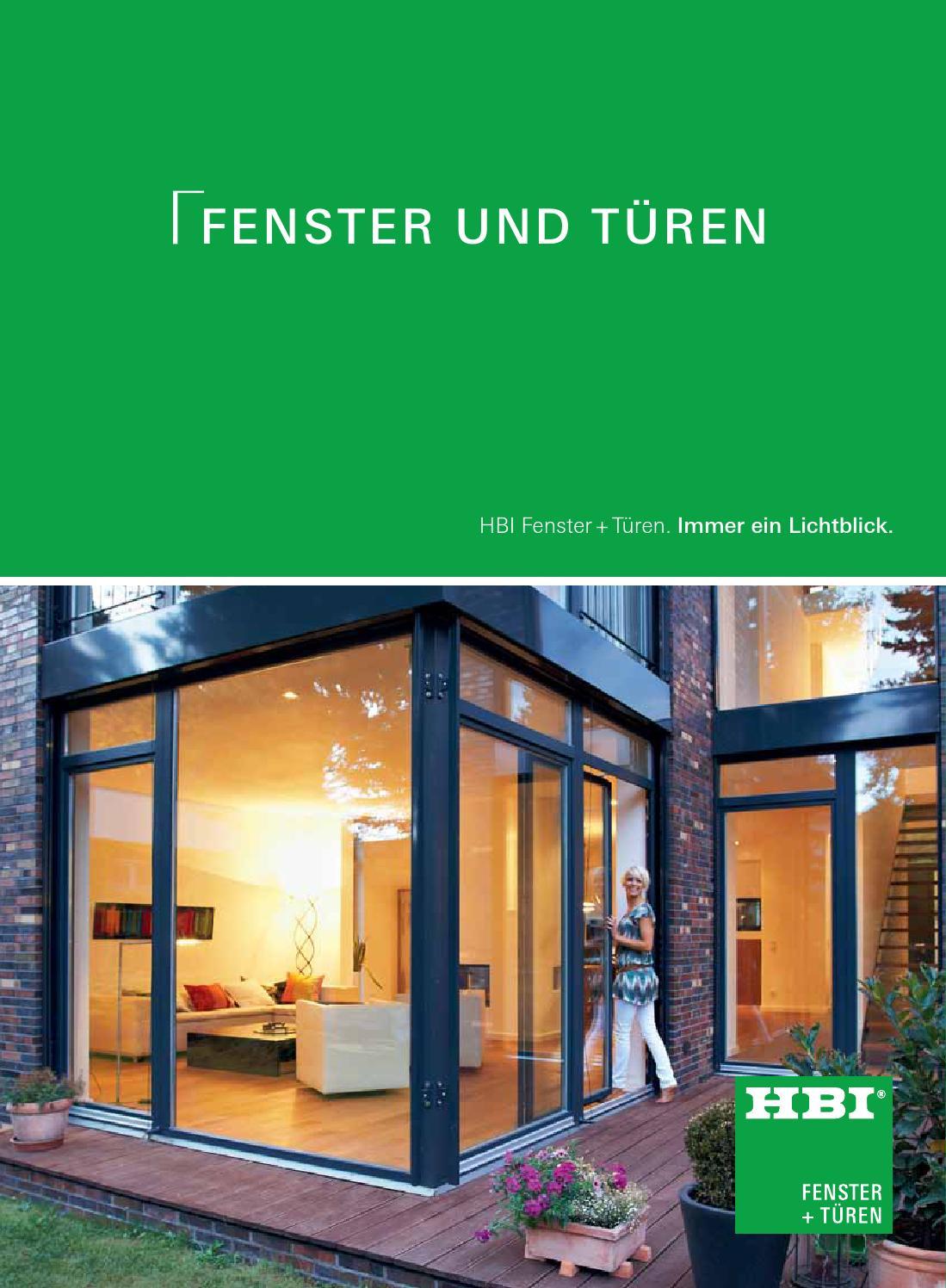 HBI Fenster und Türen by Kaiser Design - issuu