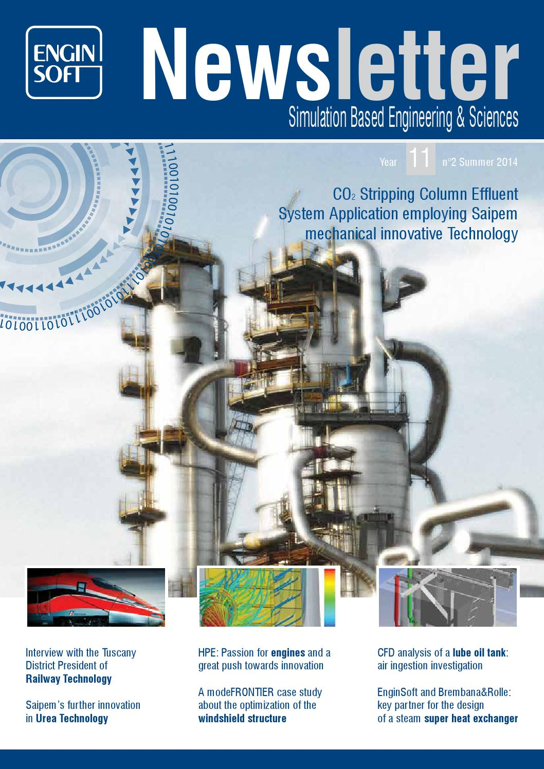 Newsletter EnginSoft 2014 N°2 by EnginSoft - issuu
