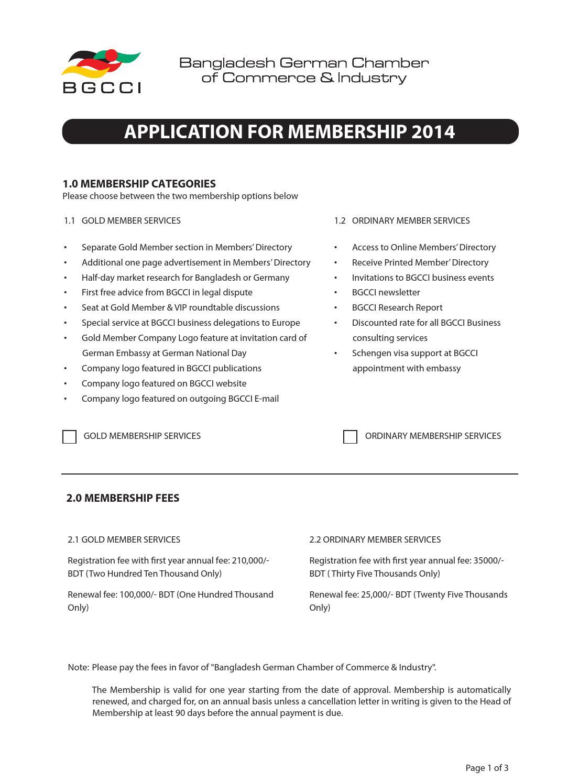 Updated application form (1) by BGCCI Bangladesh German
