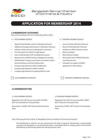 Updated application form (1) by BGCCI desh German Chamber of ... on german documents, german cv, german brochure, german background,