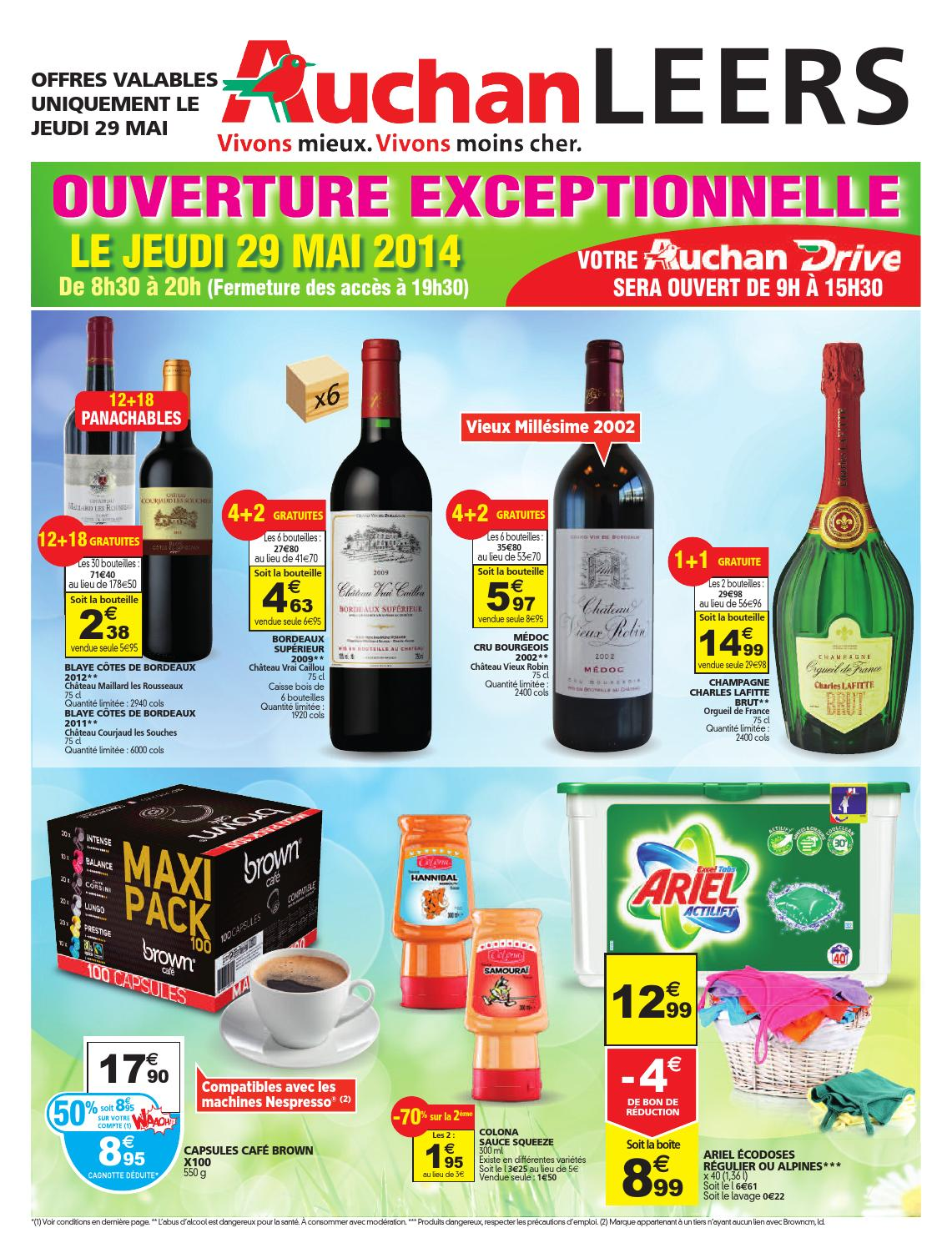 Catalogue auchan le 29 mai by anti issuu - Catalogue auchan leers ...
