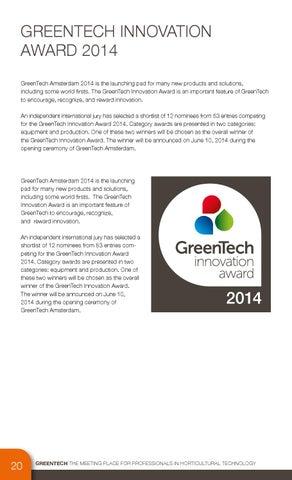 Greentech Catalogue 2014 By Rai Amsterdam Issuu