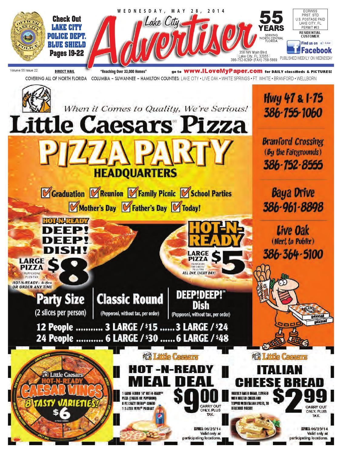 05-28-14_Advertiser by North Central Florida Advertiser - issuu
