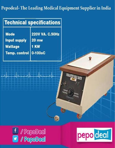 Pepodeal the leading medical equipment supplier in india by