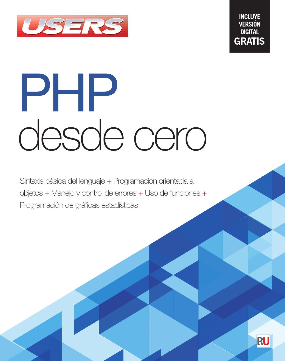 Php desde cero by RedUSERS - issuu