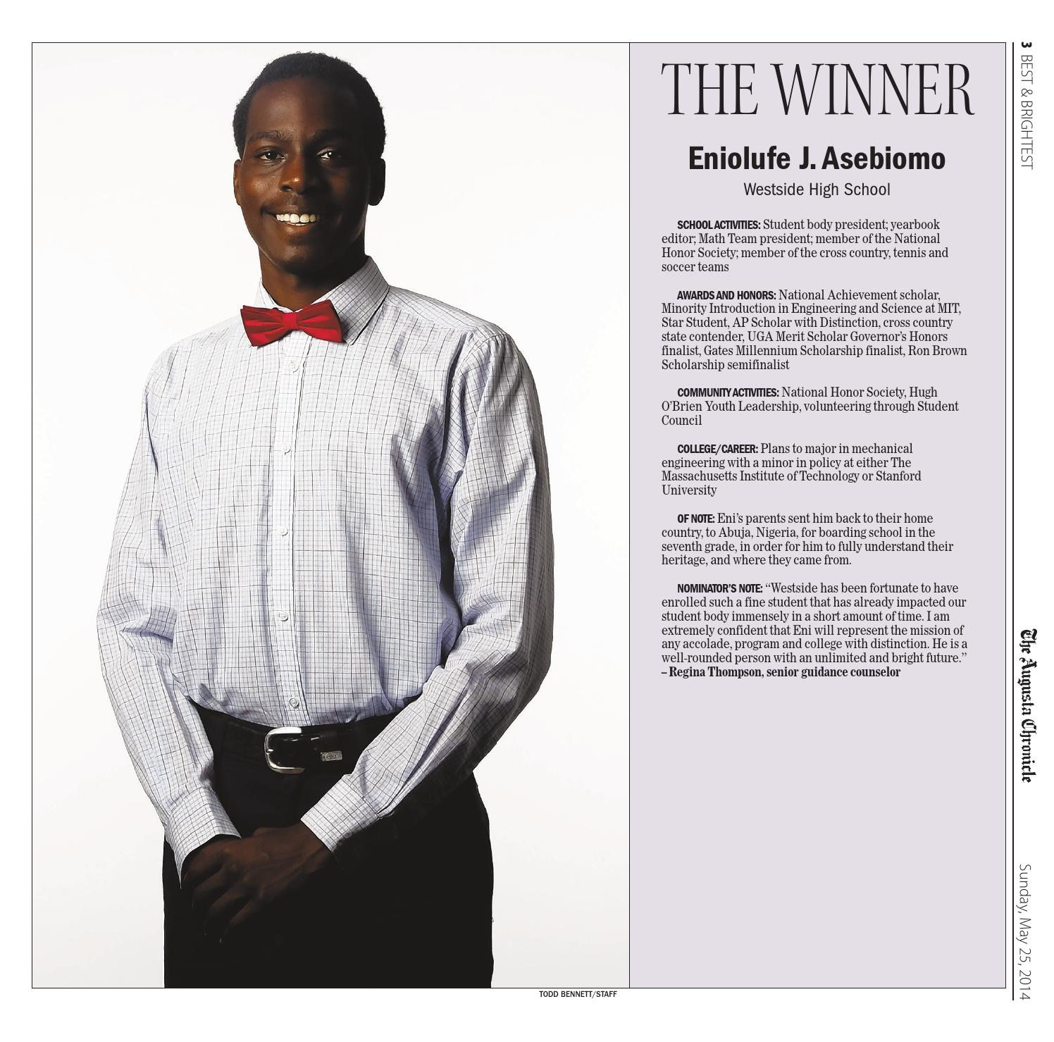 Heritage Academy Augusta Ga: Best & Brightest 2014 By The Augusta Chronicle