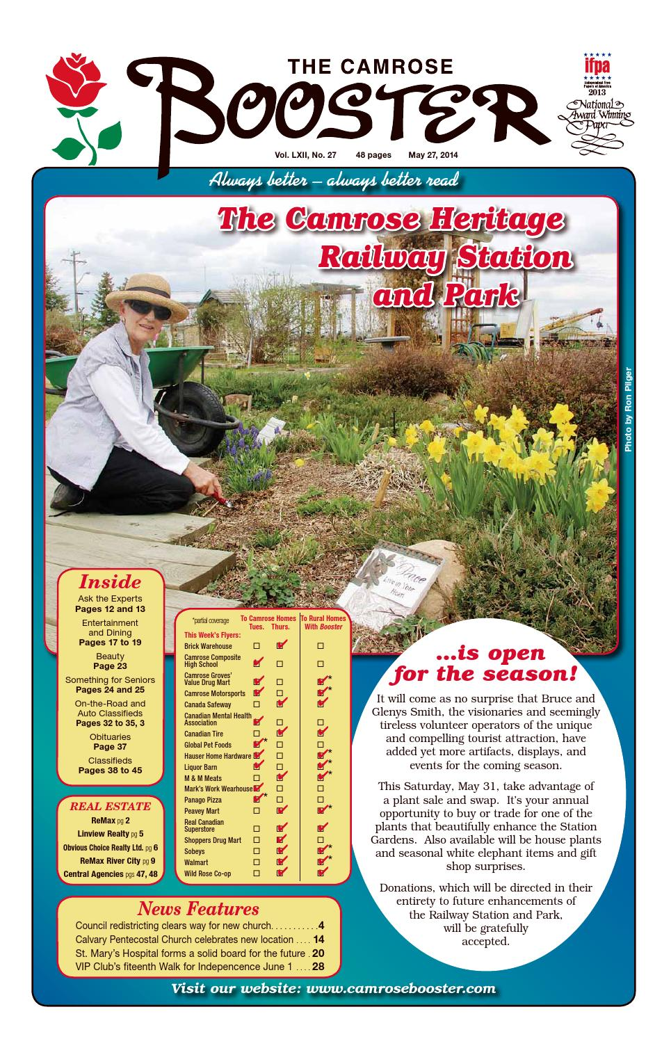 May 27 2014 Camrose Booster By The Camrose Booster Issuu