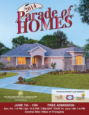 Parade of Homes 2014 by Emerald Coast Marketing & Publishing
