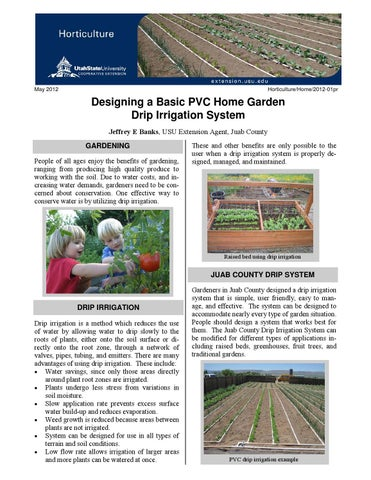 Designing a Basic PVC Home Garden Drip Irrigation System by ... on raised garden edging, raised garden compost, raised garden tanks, raised bed drip irrigation diagram, raised garden landscape, raised garden soil preparation, raised garden greenhouse, raised garden concrete, raised garden containers, raised garden automatic watering, raised garden planting plans, raised garden sprinklers, raised garden plants, raised garden construction, raised garden drainage, raised garden decks, raised garden design, raised garden raised beds, raised garden lawn, leaking irrigation,
