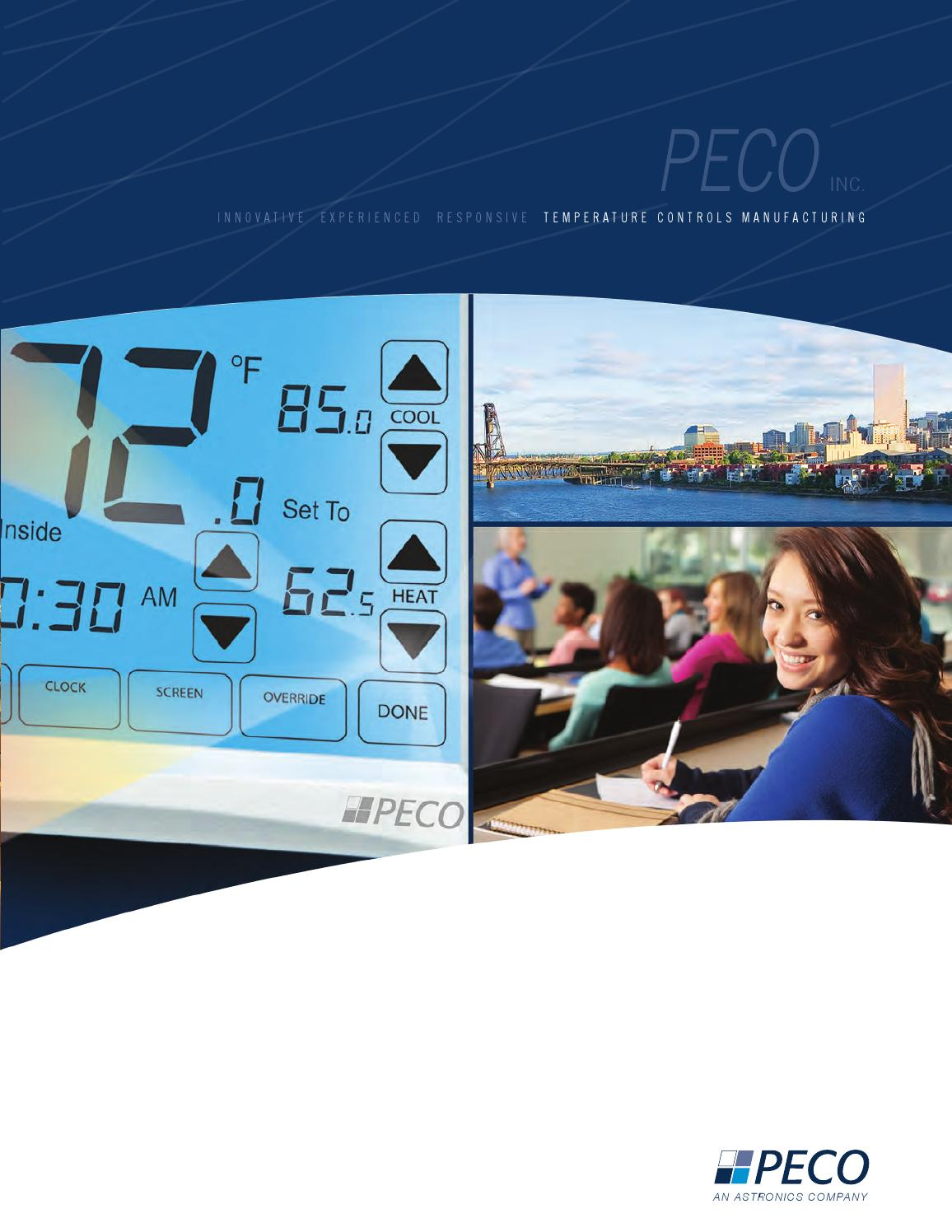 PECO Controls Product Brochure by PECOcontrols - issuu