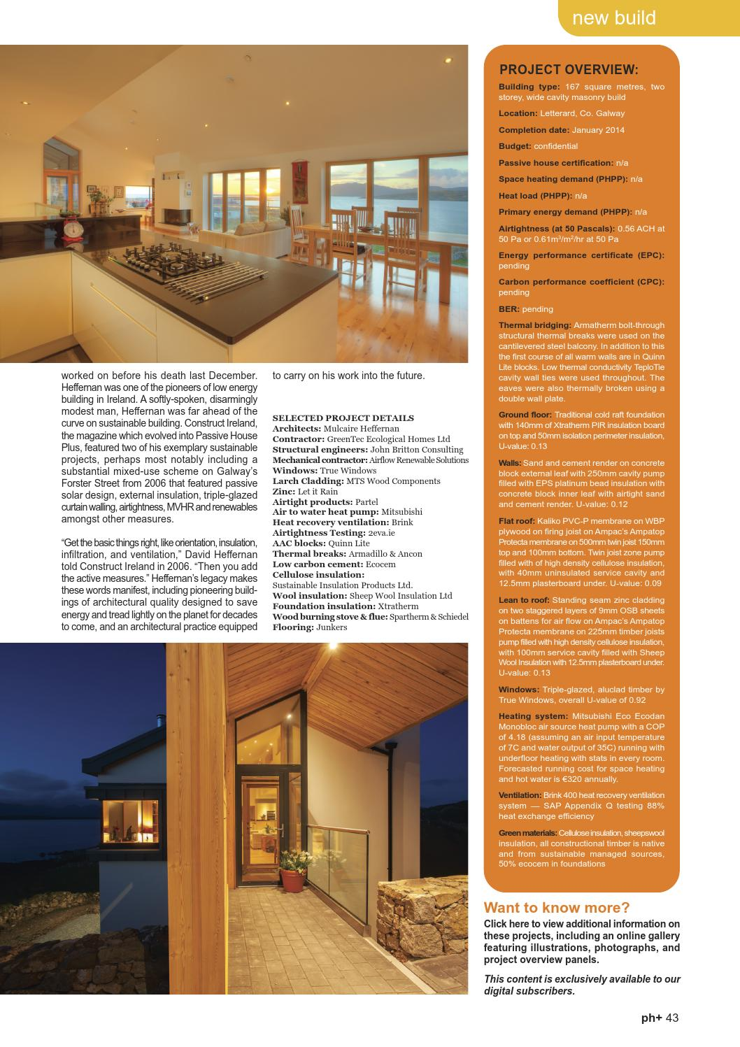 Passive House Plus issue 7 (Irish edition) by Passive House