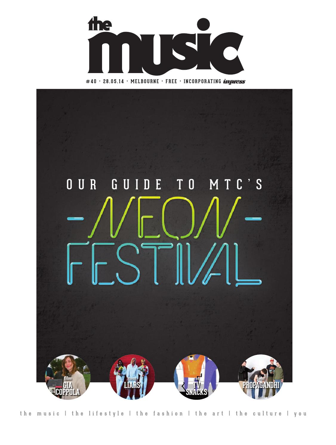 The Music Melbourne Issue 40 by