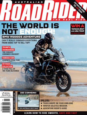 7ab5ad1a Road Rider #103 - June 2014 by Australian Road Rider Official - issuu