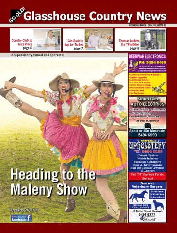 Edition 28 may 2014 by glasshouse country news issuu page 1 fandeluxe Gallery