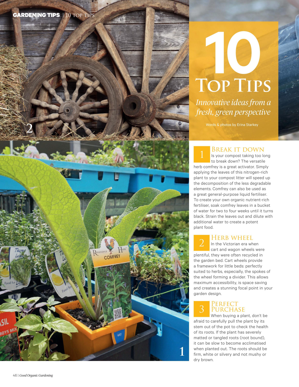 Good Organic Gardening #5 1 MAY / JUNE by Good Organic