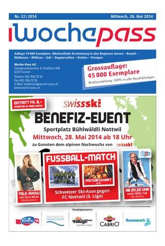 Woche-Pass | KW 22 | 28. Mai 2014 by Woche-Pass AG - issuu