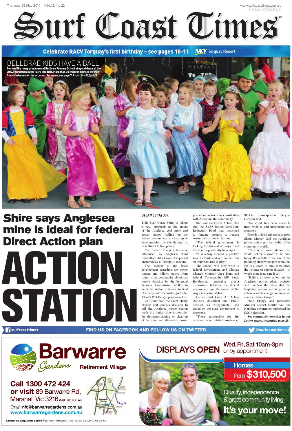 Surf Coast Times May 10, 10 by Surf Coast News Australia Pty ...