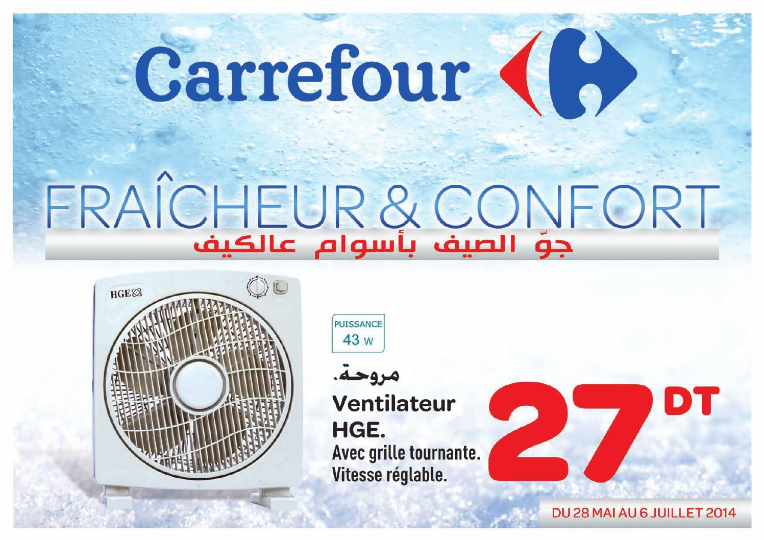 catalogue carrefour 100 froid by carrefour tunisie issuu. Black Bedroom Furniture Sets. Home Design Ideas