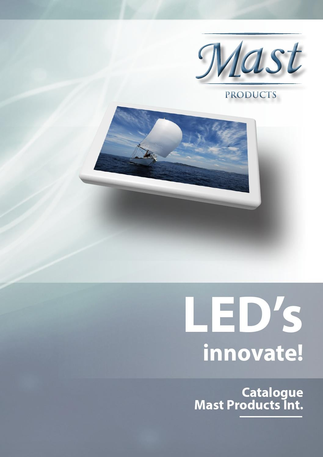 Mast Products Led Lights Catalogue 2014 By Marcel Boshuizen Issuu Light Wiring Diagram For