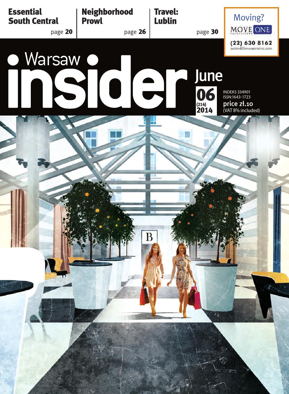 Warsaw Insider June 2014 # 214 by Valkea Media Pro - issuu
