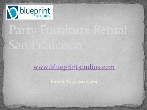 Event furniture rental san francisco blueprint studios by party furniture rental san francisco blueprintstudios phone 415 9229004 malvernweather Image collections
