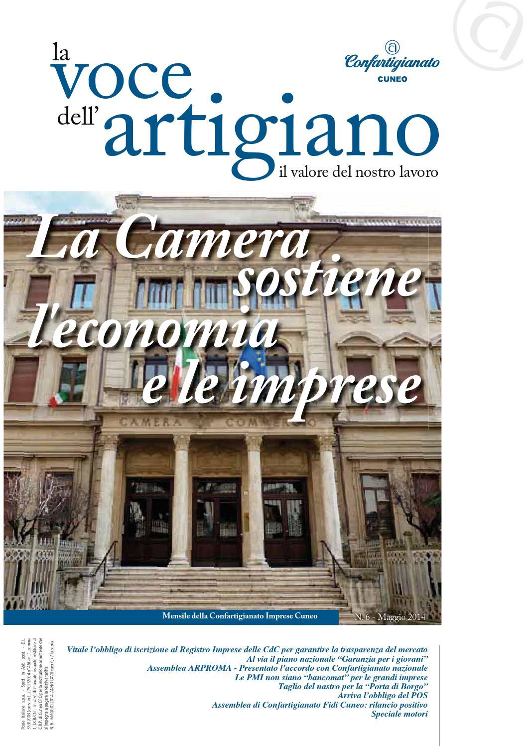 La Voce dell Artigiano – Maggio 2014 by Confartigianato Cuneo - issuu 45cd14aebe3