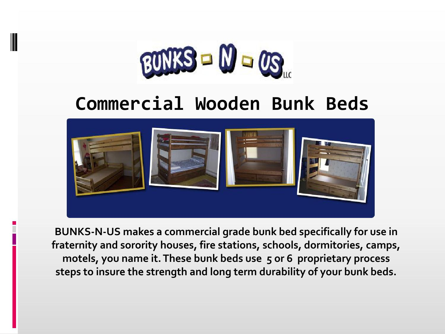 Picture of: Commercial Wooden Bunk Beds By Bunksrus Issuu