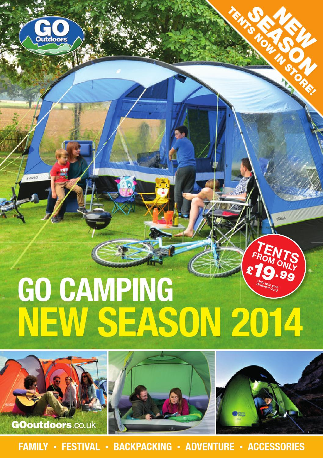 Fantastic Go Outdoors Camping Brochure 2014 By Go Outdoors Issuu Machost Co Dining Chair Design Ideas Machostcouk