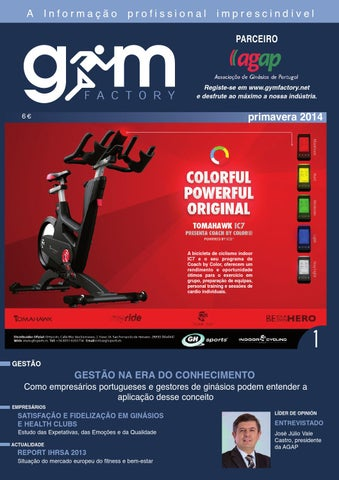 Gym Factory Gestão Nº1 Primavera 2014 by Gym Factory Magazine - issuu f2fdd974a1909