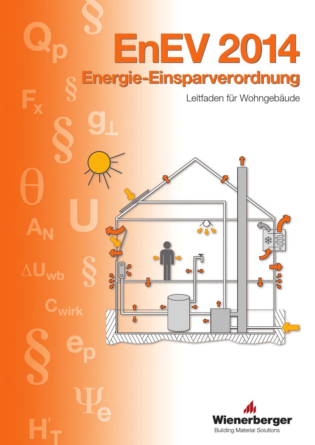 brosch re enev 2014 energie einsparverordnung by wienerberger ag issuu. Black Bedroom Furniture Sets. Home Design Ideas