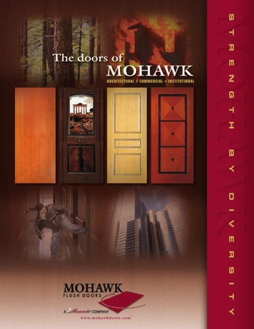 Page 1 & Mohawk Flush Doors by clearymillwork - issuu Pezcame.Com