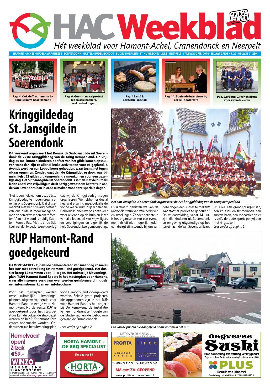 Ik Hou Van Holland Zitzak.Hac Weekblad Week 22 2014 By Hac Weekblad Issuu